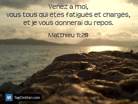 Matthieu 11:28