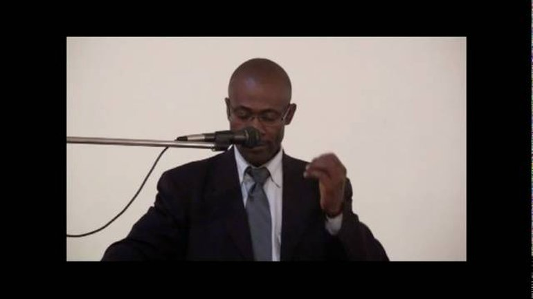Lucien Ngaba - Dieu face à la prière d'Habakuk (3)