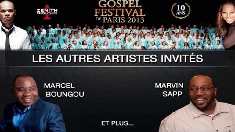 Les autres artistes au Gospel Festival de Paris le 27 Octobre 2013 - Zoom sur...