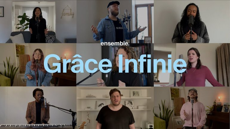 Grâce Infinie (Acapella) - Collectif Ensemble