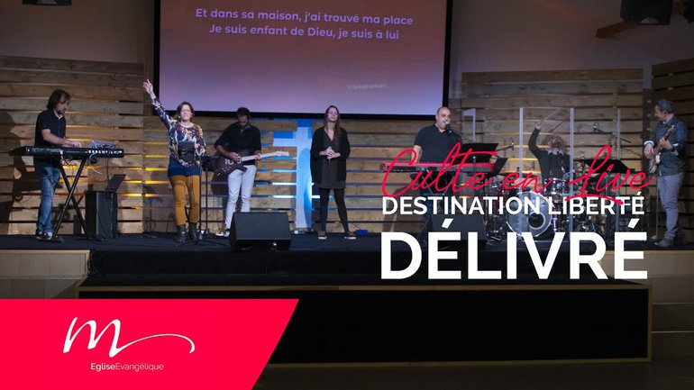 Destination Liberté S1E3 Délivré - Jérémie Chamard - Culte du dimanche 15 Novembre 2020