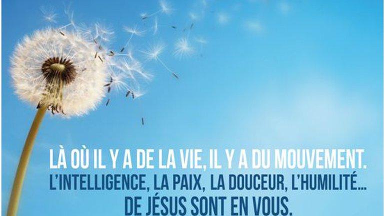 Mon ami(e), Jésus vit en vous...