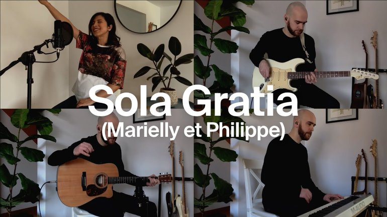 Sola Gratia (cover) - Marielly Juarez   la Chapelle Musique