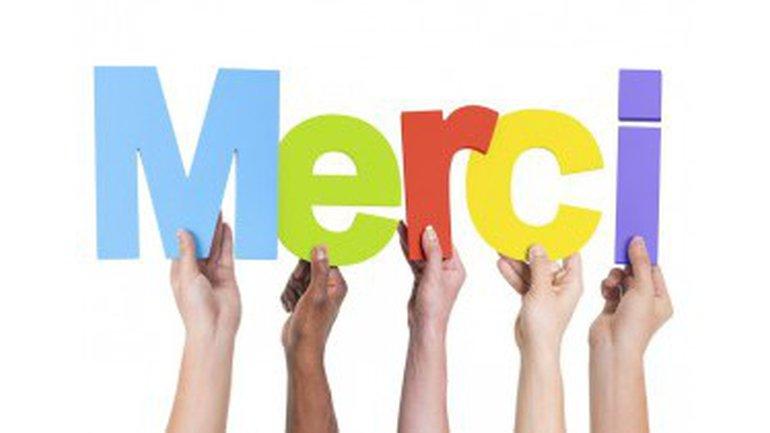 MERCI: un mot de 5 lettres qu'il est bon de connaître!