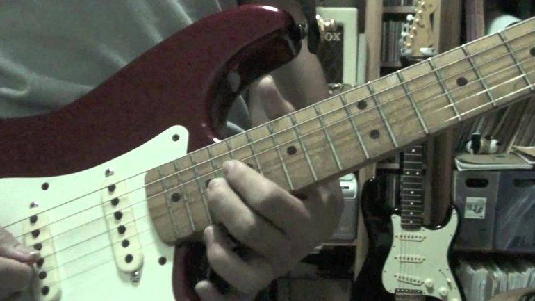 Hosanna - Paul Baloche - Tutoriel Guitare Electrique Solo