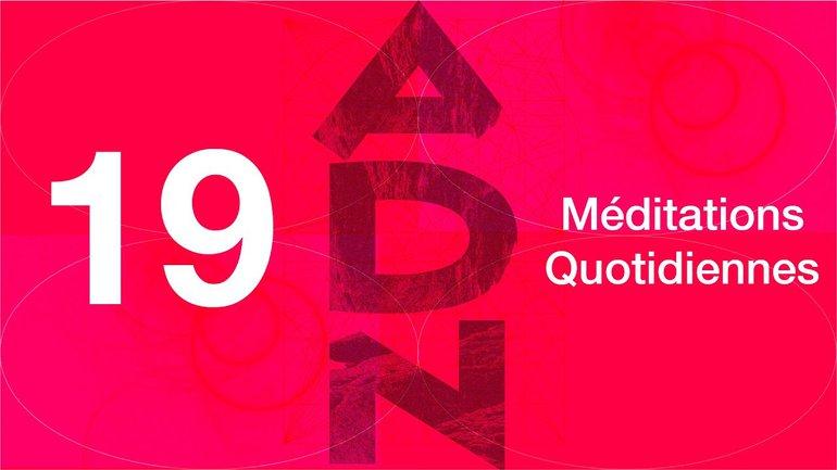 ADN Méditation 19 - Qui veut rester ? - Jean 6.59-68 - Jéma Taboyan
