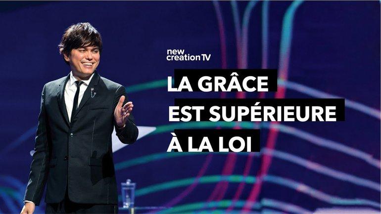 Joseph Prince - La grâce est supérieure à la loi | New Creation TV Français
