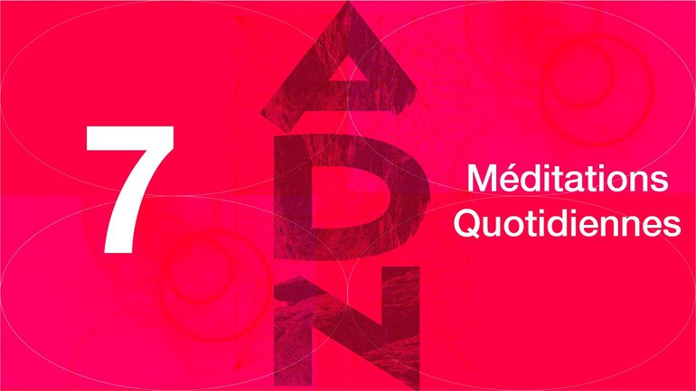 ADN Méditation 7 - Un modèle impressionnant - Philippiens 1.5-11 - Église M