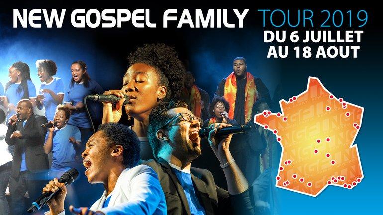 New Gospel Family est en tournée !