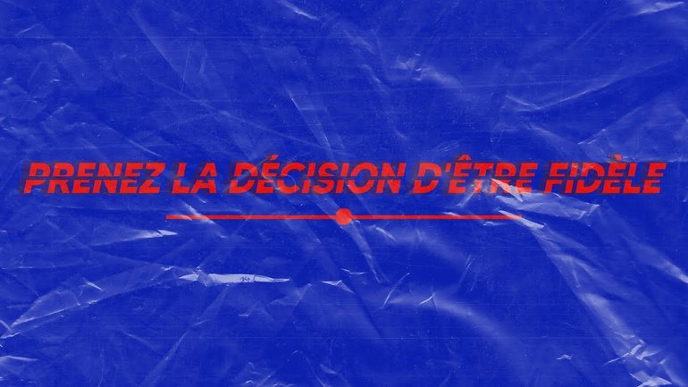STARTER - Prenez la décision d'être fidèle