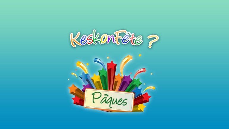 Keskonfete - Pâques