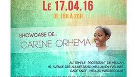 Showcase de Carine Orhema Dimanche 17 avril 15h00 à Meulan