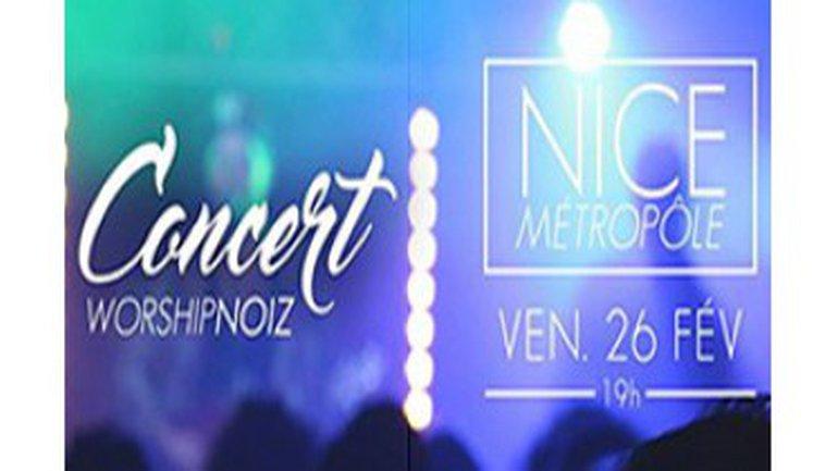 Soirée WorshipNOIZ à l'Église Nice Métropôle le 26 Février à 19h00