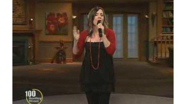 Andreanne Lafleur dans l'émission 100 Huntley Street