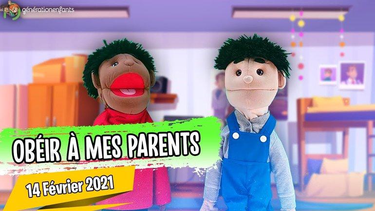 """Culte Génération Enfants du 14 février 2021""""Obéir à mes parents"""""""