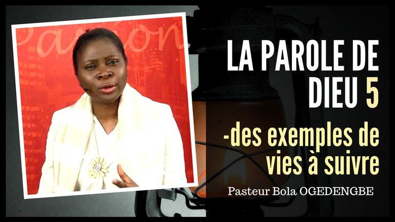 Olivia Bola-Ogedengbe - La parole de Dieu (5)