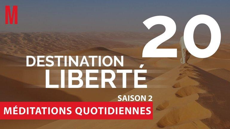 Destination Liberté (S2) Méditation 20 - Exode 25.10-21 & Luc 2.10-11 - Jéma Taboyan