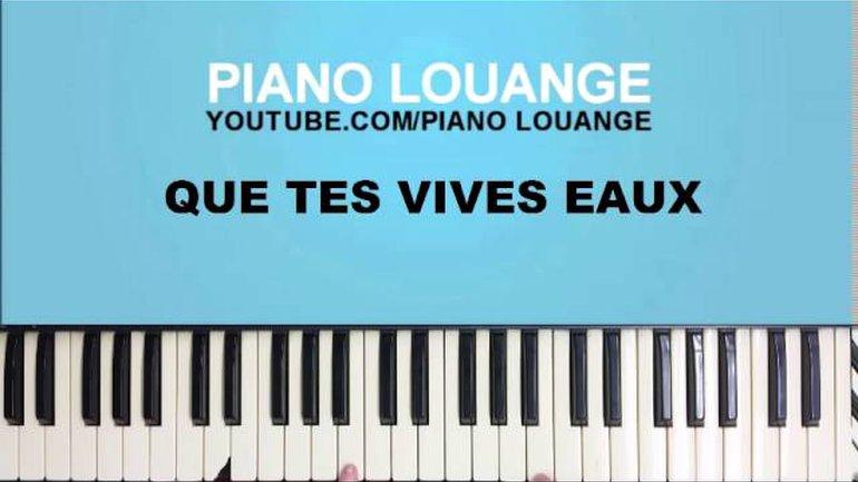 Que tes vives eaux (Père)  - PIANO LOUANGE