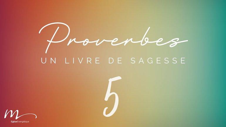 Proverbes Méditation #5 - Jéma Taboyan - Proverbes 3.1-20