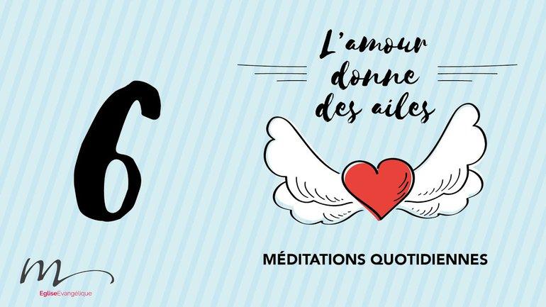 L'amour Méditation 6 - L'amour pardonne, croit, espère, supporte TOUT ! - 1 Corinthiens 13.7 - Église M