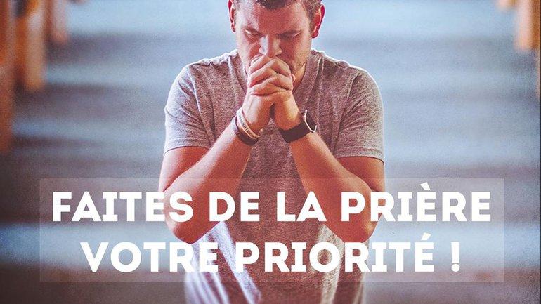 Mon ami(e), êtes vous trop occupé(e) pour prier ?