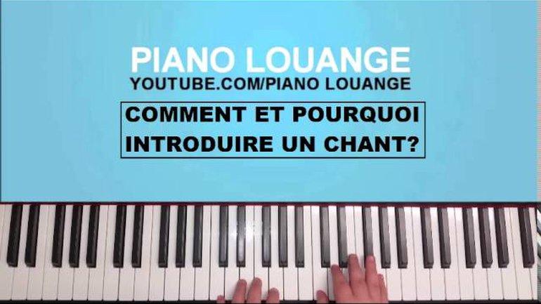 L'introduction d'un chant de groupe (Technique pour débutant) - PIANO LOUANGE