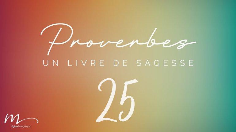 Proverbes Méditation #25 - Jéma Taboyan - Proverbes 20.1-30