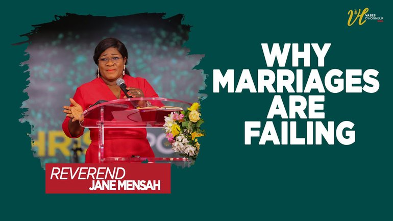 Special Week-End with Rev Jane Mensah l Why marriages are failing  l 14/02/2021