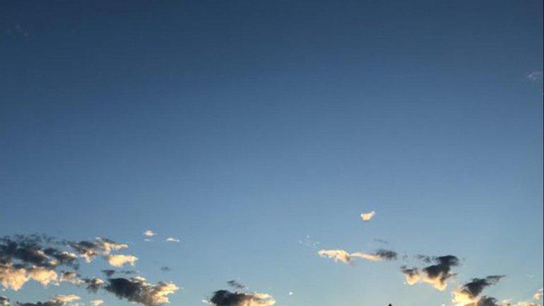Le ciel d'aurore