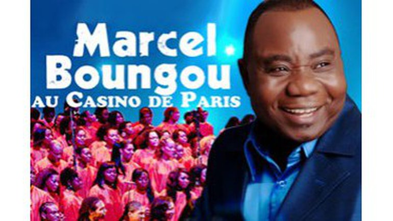 Marcel Boungou au Casino de Paris