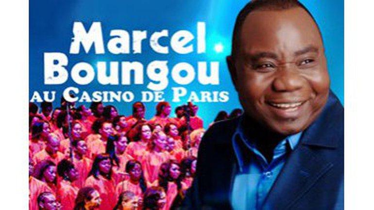 Marcel Boungou au Casino de Paris