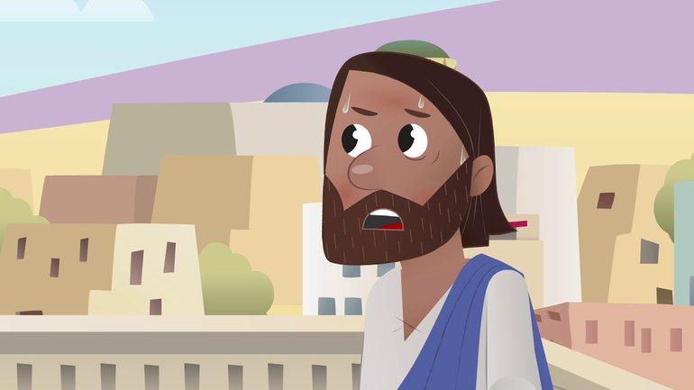 Tentation dans le désert - La Bible App pour les Enfants - Histoire 22