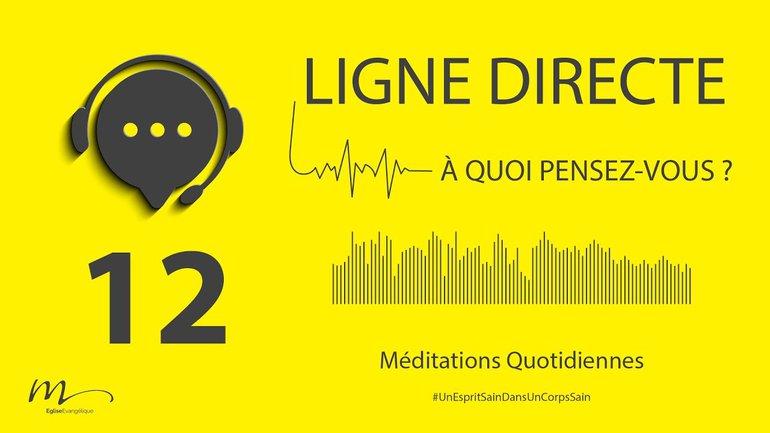 Ligne Directe Méditation 12 - Une Sagesse décalée - Jean-Pierre Civelli