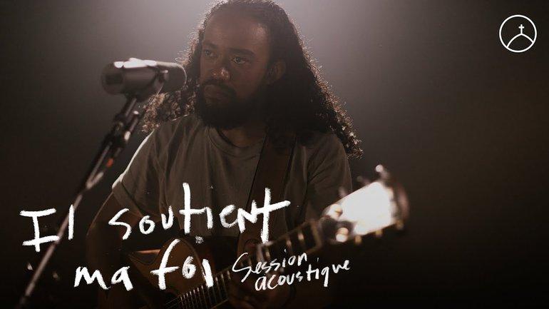 Il soutient ma foi (session acoustique) - la Chapelle Musique & Ando