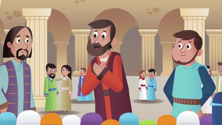 Un merveilleux cadeau - La Bible App pour les Enfants - Histoire 35