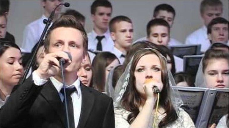 Slavic Christian Center youth choir - Nebesa