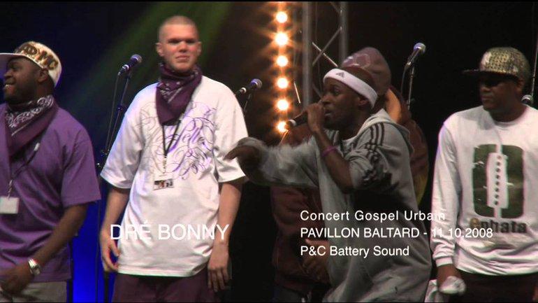 "LIVE Gospel Urbain ""DRÉ"" - Pavillon Baltard - 11.10.2008"
