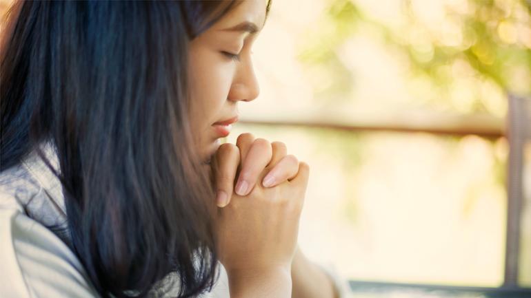 Prendre du temps dans la prière pour son homme...