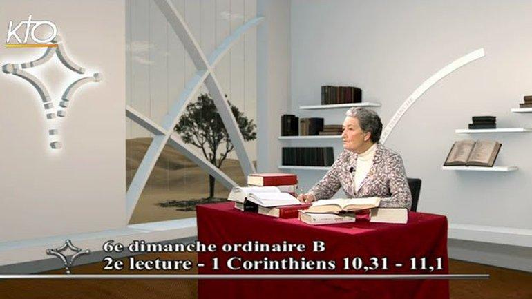 Marie-Noëlle Thabaut - Corinthiens 10 : 31 - 11 : 1