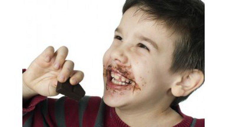 On a mangé tous les chocolats