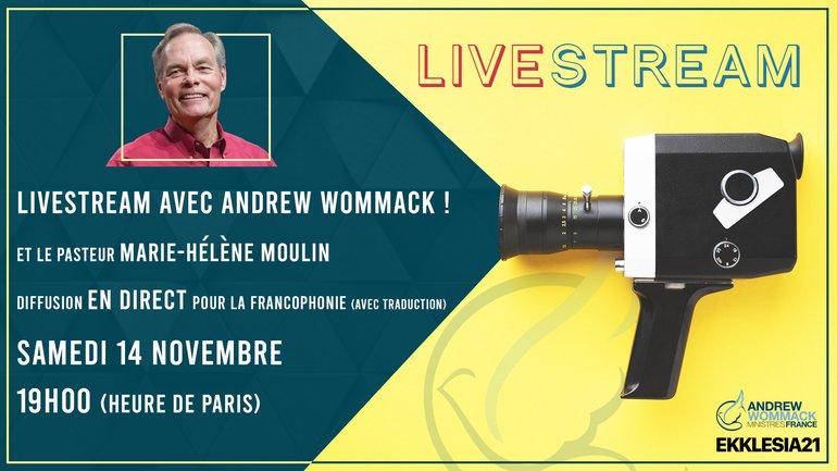 Andrew Wommack en LIVE sur le TopChrétien ! 🎬