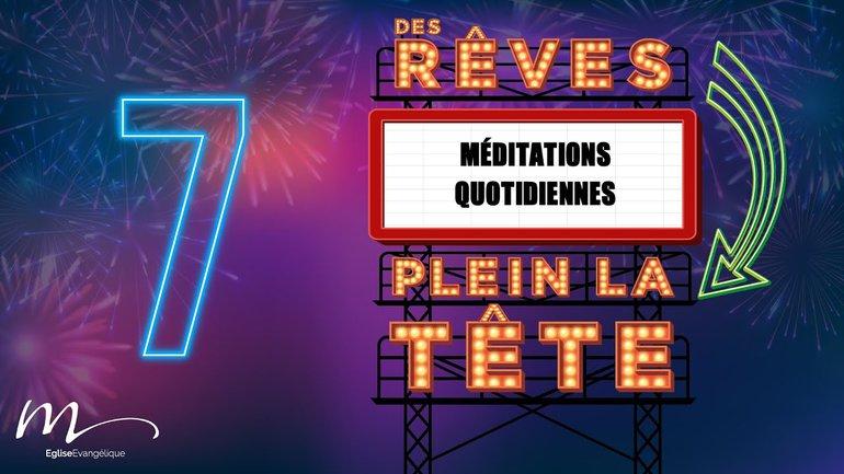 Des Rêves Méditation 7 - Actes 3.1-10 - Église M