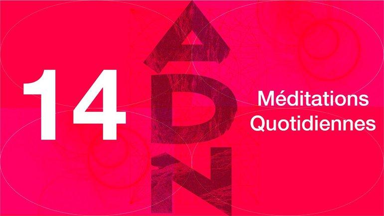 ADN Méditation 14 - Crise d'identité - Éphésiens 3.14-21 - Église M