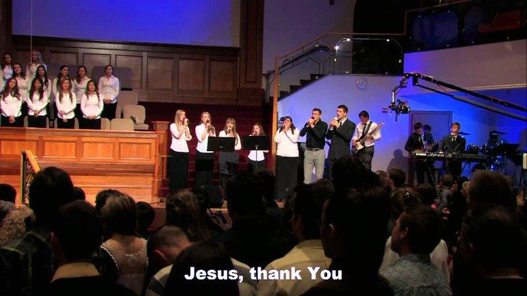 Sulamita Youth Choir - Jesus, Thank You