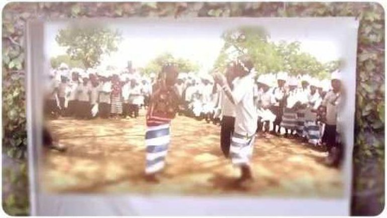 Là bas dans un centre au Burkina...