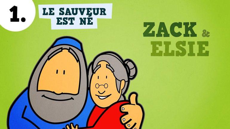▶️ Petits bouts de Bible - Le Sauveur est né ! - ép. 1 - Zack & Elsie