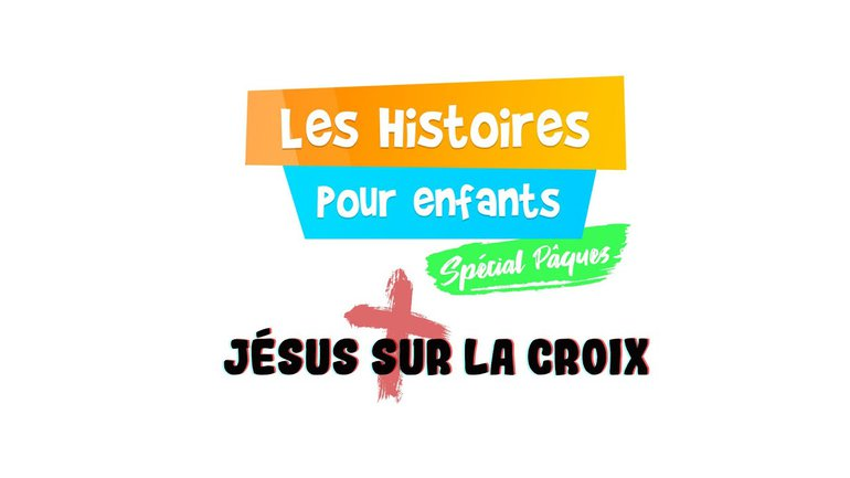 Jésus sur la croix   Pâques