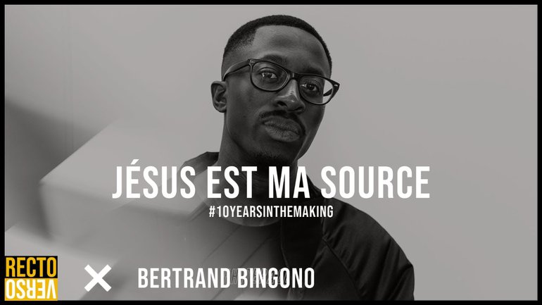 JESUS EST MA SOURCE / Luc Bertrand Bingono x RectoVerso