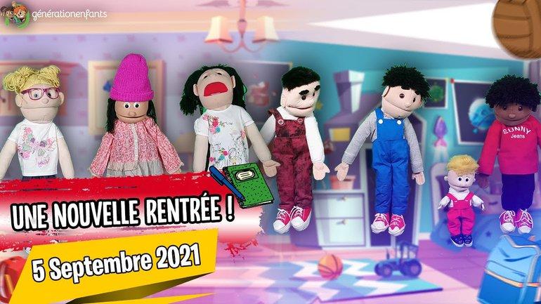 """Culte Génération Enfants du 05 septembre 2021 """"Une nouvelle rentrée"""""""