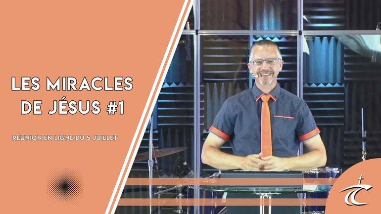 'Miracle de Jésus: Une grande foi #1' avec P. Guy - Dimanche 5 juillet 2020